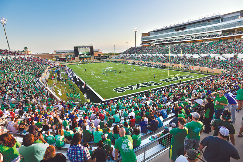 Mean Green at Apogee Stadium